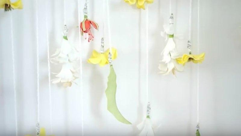 Tee ise: kevadine lilledega seinakaunistus