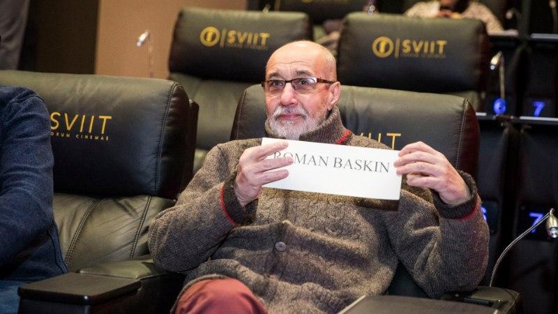 Parima filminäitleja preemiale esitatud Roman Baskin: vast saan nüüd filmides osalemiseks rohkem pakkumisi!