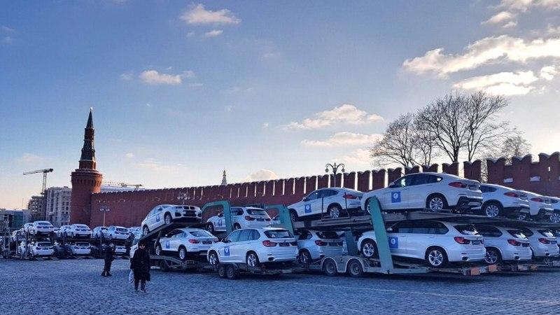 Venemaa medalivõitjad said Kremlilt kingituseks tuttuue BMW