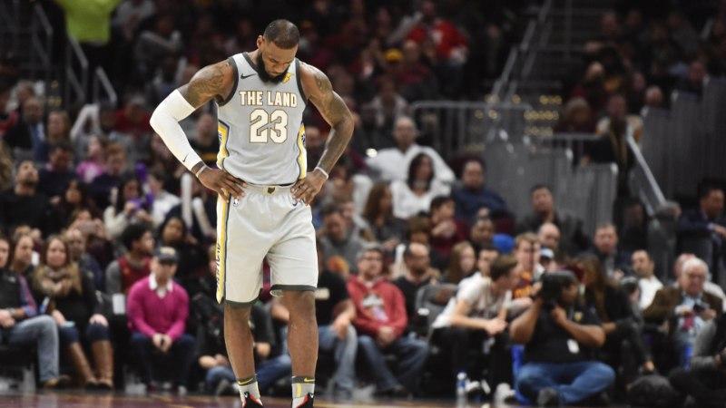 NBA mullused finalistid Warriors ja Cavaliers kaotasid