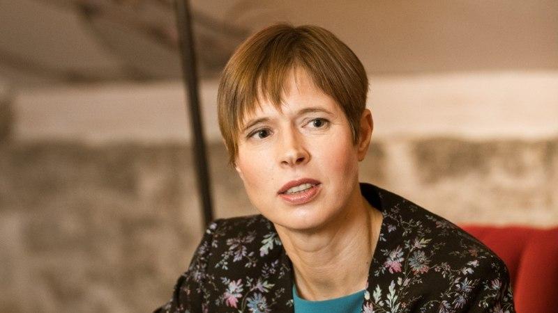 President Kaljulaid osaleb abikaasaga olümpiamängude avamisel