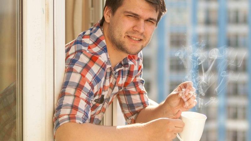 Suitsetamine ja kuum tee ei käi kokku?