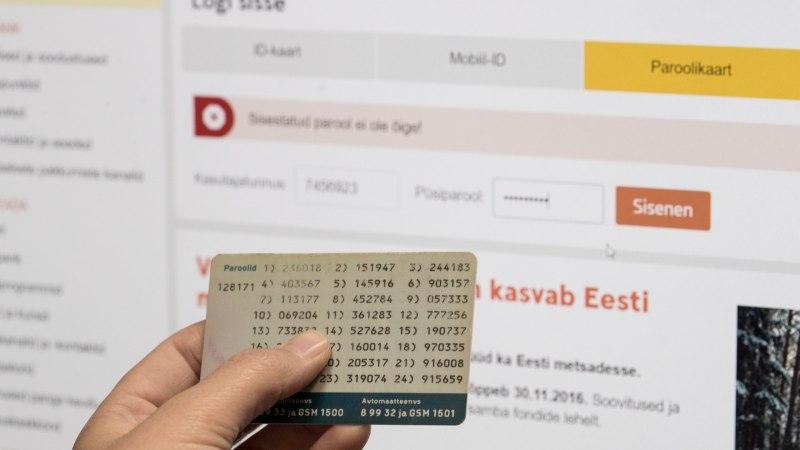 Swedbanki töös esineb öösel häireid, paroolikaardi kasutajatele tekib oluline muudatus