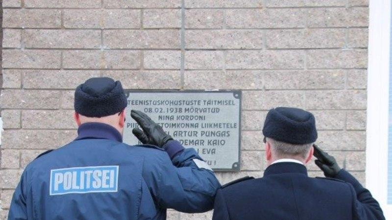 FOTOD | Varnjas mälestati Peipsi järvejääl hukkunud piirivalvureid