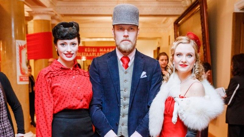 TV3 VIDEO | Martin Saare kaunis kaasa Ingrid Margus näeb välja kui Hollywoodi kuldajastu staar