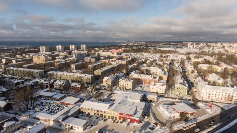 DROONIVIDEO | Vaata, milline lummav vaade hakkab paistma Tallinna vaaterattalt