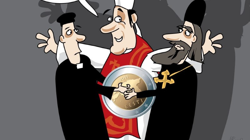 Juhtkiri | Kirikutele raha andmise otsustagu riigikogu