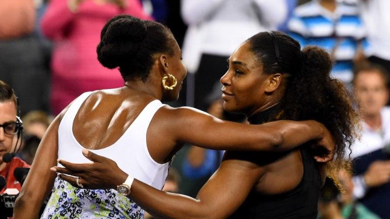Õde Venus lõpetas Serena Williamsi teekonna