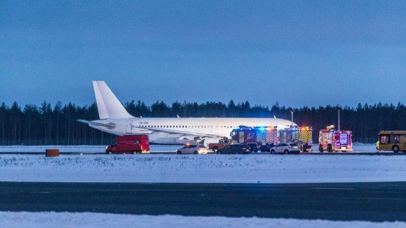 Hädamaandunud lennuki lendur sai haiglast koju