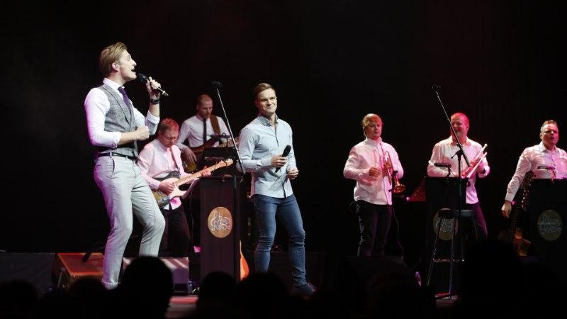 GALERII | Tähti üheks õhtuks: Eesti meeslauljate raskekahurvägi korraga koos laval