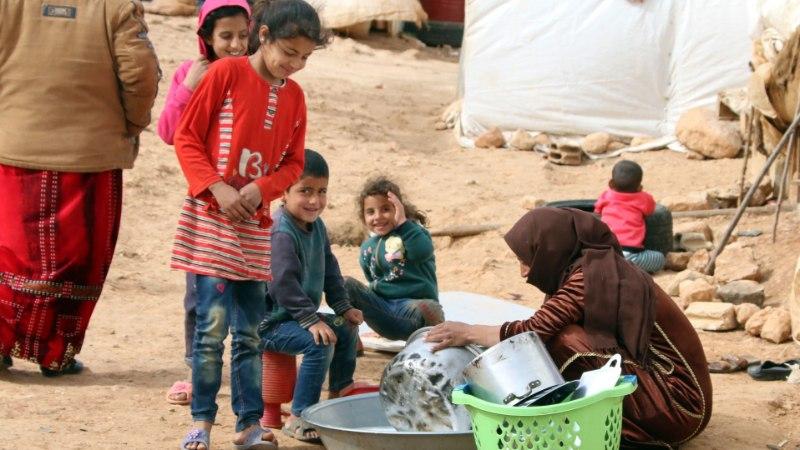 На этой неделе в Эстонию прибыли три семьи беженцев из Сирии