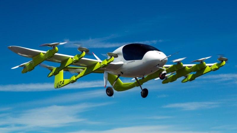 PÕNEV: Uus-Meremaal esitleti lendavat elektritaksot