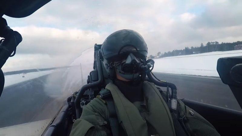 VIDEO | Adrenaliinirohked kaadrid sellest, kuidas Itaalia hävitajad Eesti õhuruumi turvavad