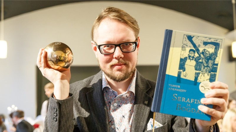 GALERII | Selgusid Eesti kultuurkapitali kirjanduspreemia laureaadid