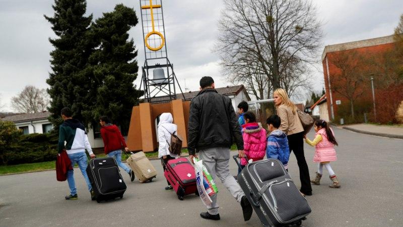 Saksamaale läinud pagulaspered on lasknud tagasireisi piletid tuulde