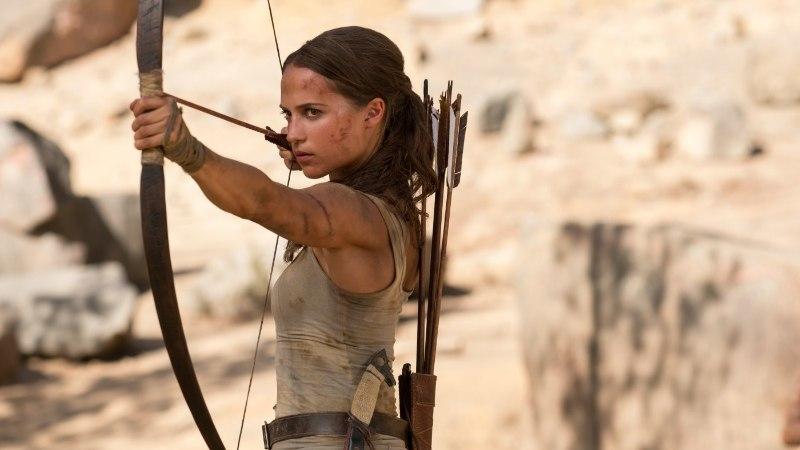 """ARVUSTUS   """"Tomb Raider"""" tahab kõrgelt lennata, aga saab vaevu maast lahti"""