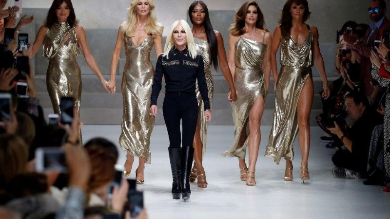 Versace moemaja lõpetas viimaks ometi karusnaha kasutamise! Donatella Versace: ma ei taha moe nimel loomi tappa