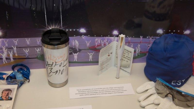 GALERII   Taliolümpianäitusel näeb Alusalu disainitud kombet, autogrammidega hokifinaali litrit ja palju muud põnevat