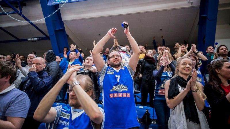 FOTOD   Kalev/Cramo üllatas kodusaalis Ühisliiga keskmikku ja lootused veerandfinaalist elavad!