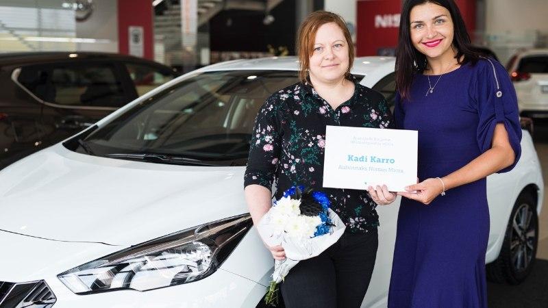 Ajakirja Käsitöö tellija võitis uue Nissan Micra!