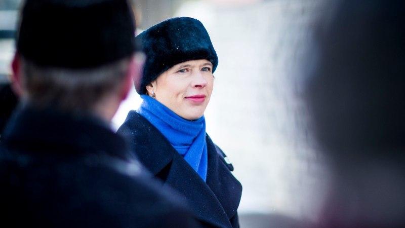 President Kaljulaid õnnitles Putinit tagasivalimise puhul