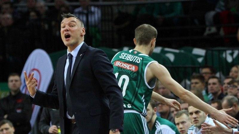 Kas Kaunase Žalgiris suudab Euroliigas kindlustada play-off'i koha?
