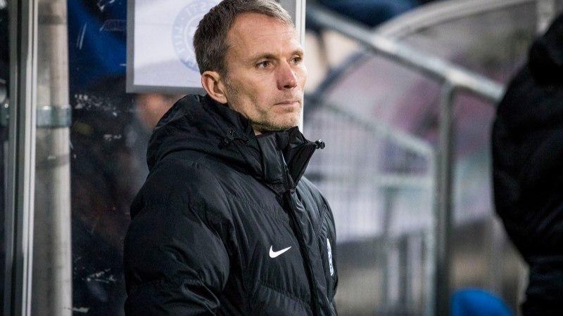 Eesti jalgpallikoondise peatreener: ka natuke halvema mänguga peab tulemuse saama