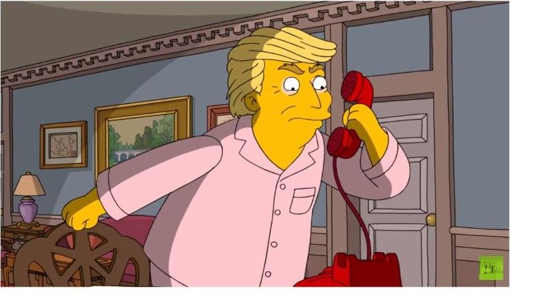 """""""Simpsonite"""" värskes osas solvab Trump unes Putinit"""
