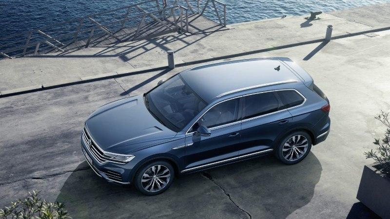 Uus Volkswagen Touareg: krõbeda hinna eest kõvasti nodi ja uudissõnu