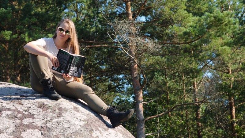 BLOGIAUHINNAD   Raamatublogija Mariann Vendelin: iga inimese jaoks on kuskil raamat, mis teda kõnetab