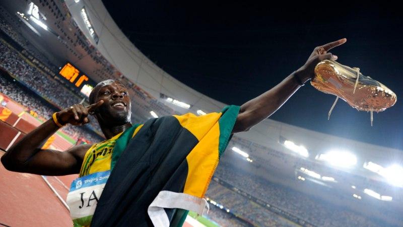 VAHVA VIDEO | Usain Bolt täitis oma lubaduse ning tegi Saksamaa kahevõistlejatele muheda kingi