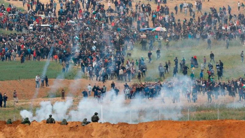 FOTOD | Gaza rahutustes on hukkunud seitse palestiinlast