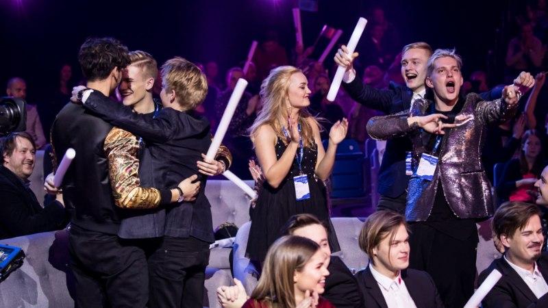 """Põnev tähelepanek - """"Eesti laulu"""" esiviisik pääses täiskoosseisus finaali esimesest poolfinaalist"""