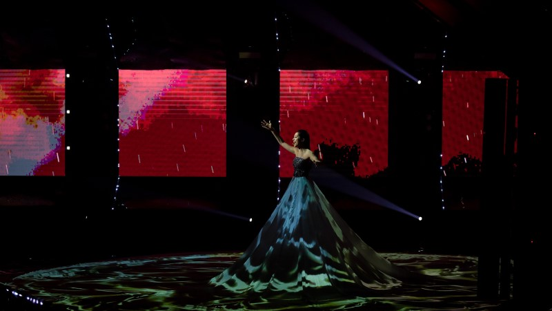 """""""La forzale"""" visuaali loonud Alyona Movko: kleidile projitseerimist on küll miljon korda tehtud, aga tähtis on seda teha kõige paremini!"""