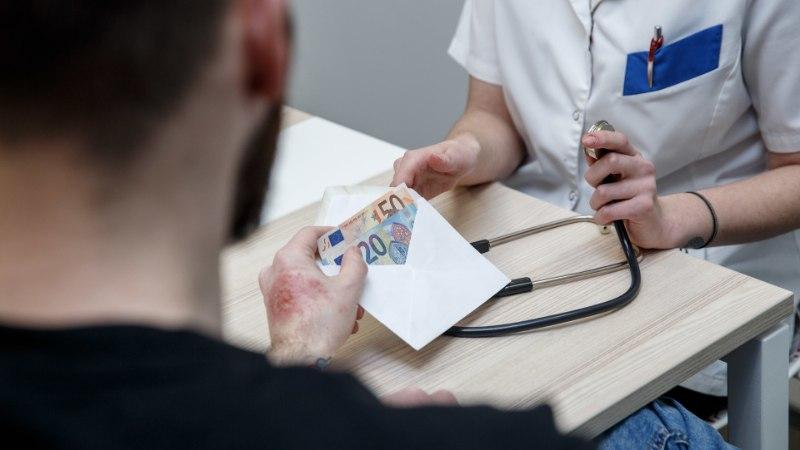 Eesti arstid ja haiglajuhid suhtuvad korruptsiooni sinisilmselt