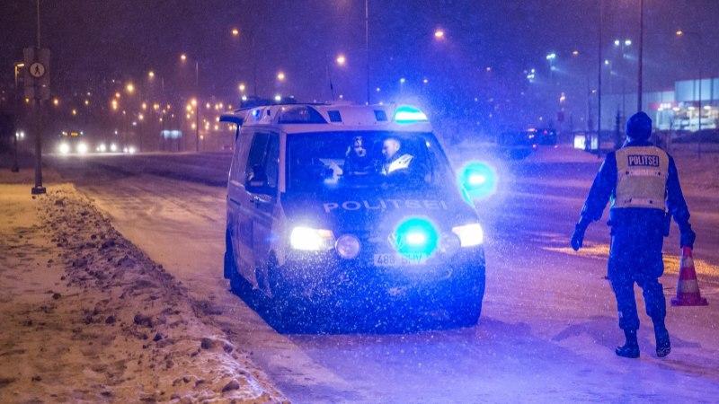 VIDEO | Vaata, kuidas auto Tartu maanteel vastu majaseina põrutab