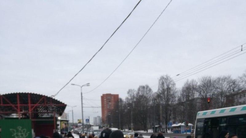 LUGEJA FOTOD | Tallinna tööle kiirustajaid häiris hiigelummik