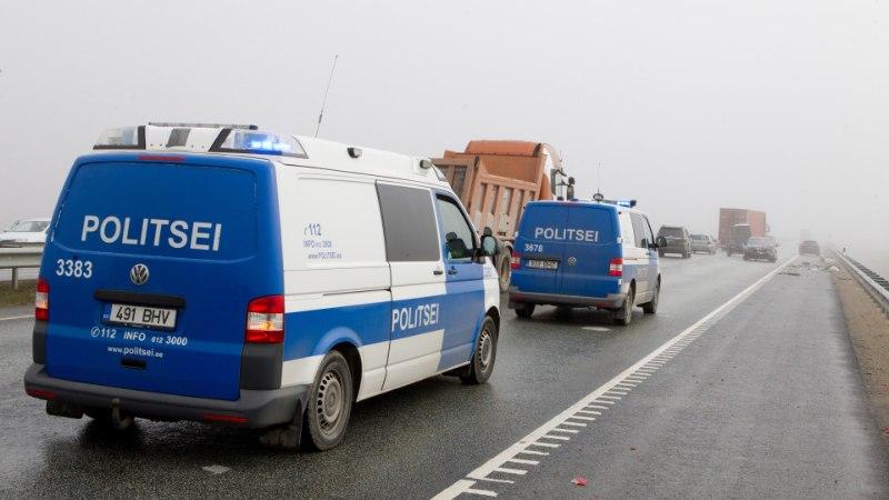 Politsei tabas 10 joobnud juhti, viga sai neli inimest ja üks hukkus