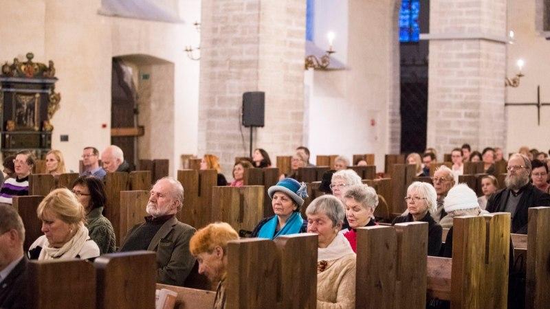 GALERII | Niguliste kirikus mälestati märtsipommitamises hukkunuid