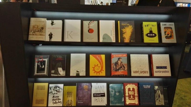 GALERII   Kuidas tutvustab oma kirjanikke Londoni raamatumessil?