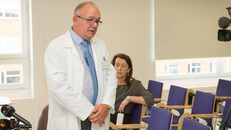 GALERII | Valga haigla sünnitusosakond suletakse 1. juulist, pressikonverents muutus tuliseks