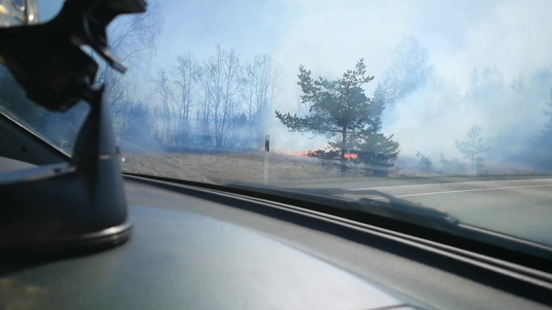 VIDEOD   Nissi vallas põleb mets