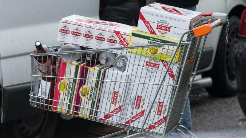 GRAAFIK | Kui suure osa viina, kütuse ja sigarettide hinnast moodustab aktsiis?