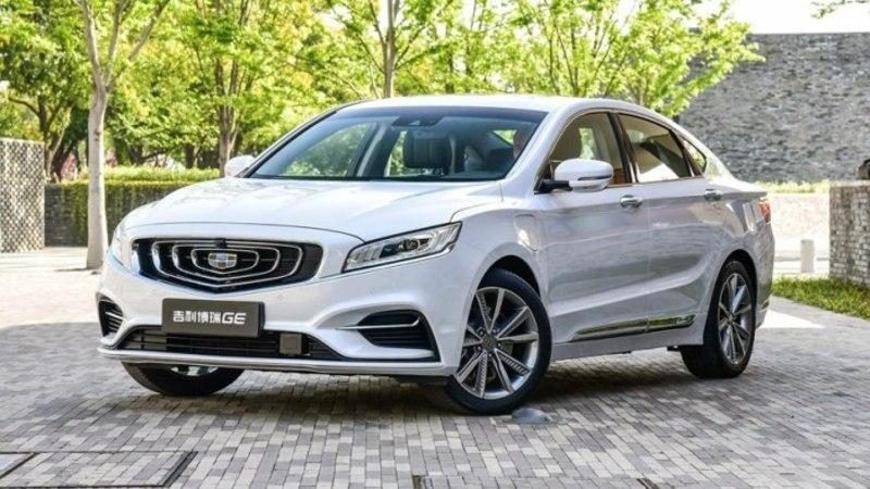 Geely Borui GE: esimene Volvo hübriidtehnoloogial põhinev Hiina auto
