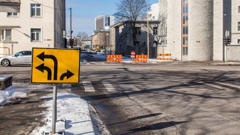 В центре Таллинна начинаются масштабные дорожные работы