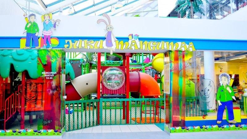 Juku mängumaal leiab rõõmsa tegevuse nii laps kui ka vanem