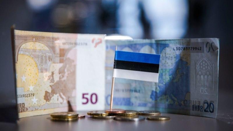 Самой популярной купюрой в Эстонии является 50 евро