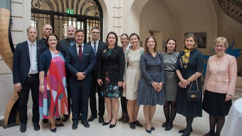 FOTOD   Luksemburgi peaminister sai kätte Eesti teenetemärgi