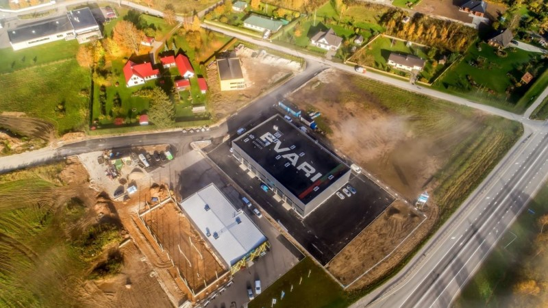Eesti ehitusettevõte on teinud maailma kõige põnevama katuse