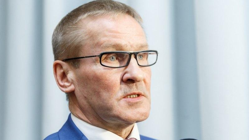 ÕL VIDEO JA FOTOD   Riigihalduse minister Jaak Aab astub tagasi